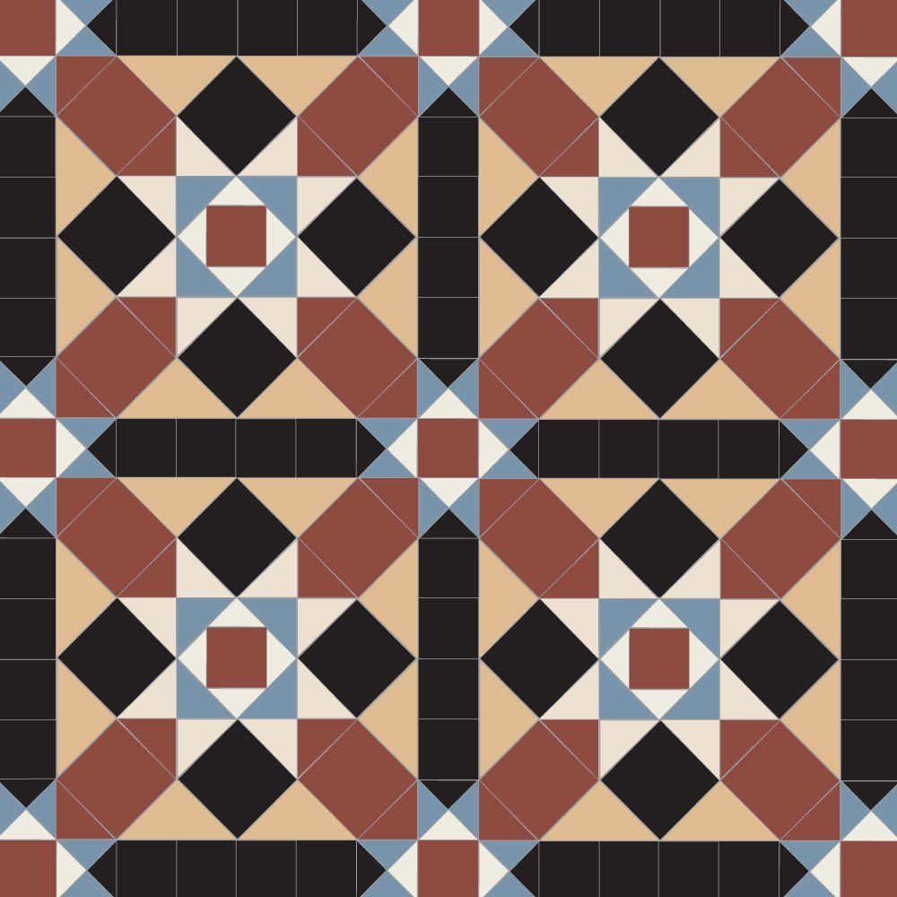 Olde English Grasmere Geometric Floor Tiles Olde English Geometric