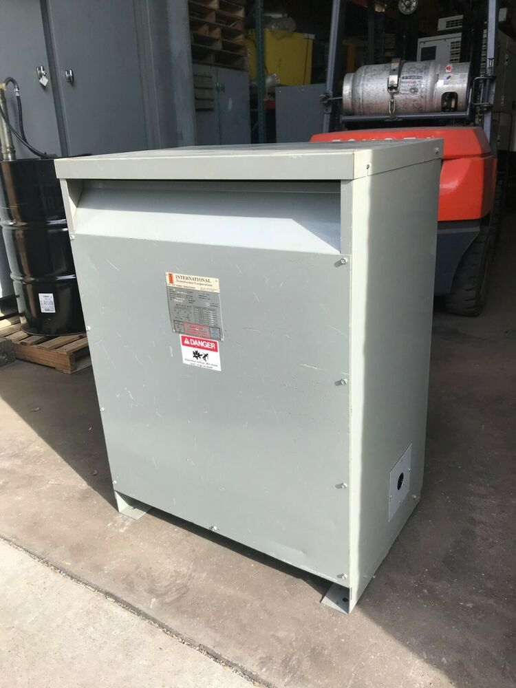 eBay #Sponsored 75kvA ITC Dry Type Power Transformer 240