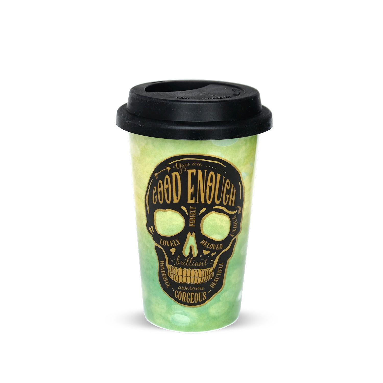 Ob Kaffee, Tee oder Softgetränk - mit dem Sugar Skulls Becher to go ...