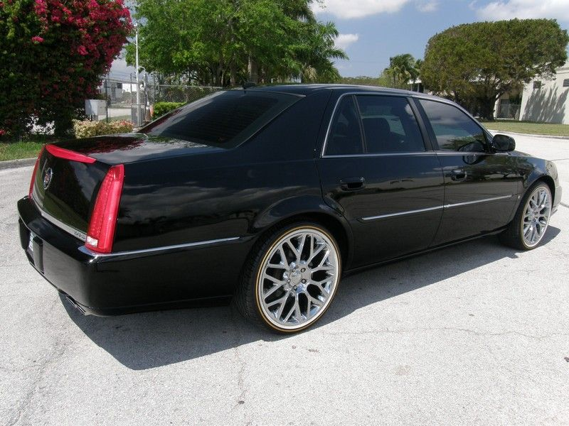 Can You Guess What Year This Mint Cadillac Dts With Vogue Tires Is