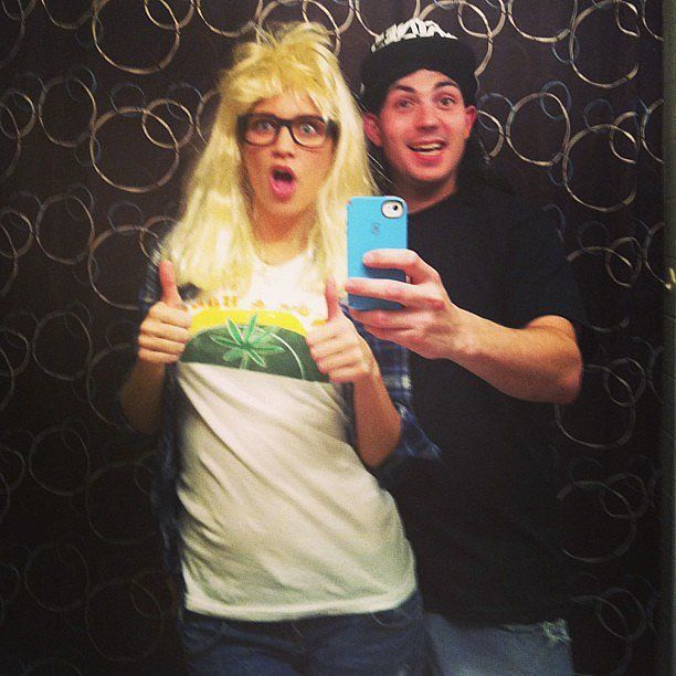 Wayne and Garth PopSugar, Couple and Love - best couples halloween costume ideas