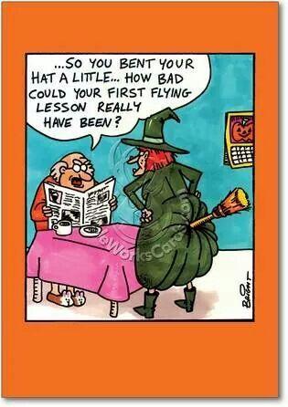 Pin By Mary Beth Badders On Quotes And Sayings Halloween Cartoons Cartoon Jokes Funny Halloween Jokes