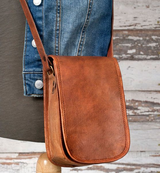 Bartlett Leather Cross-Body Bag