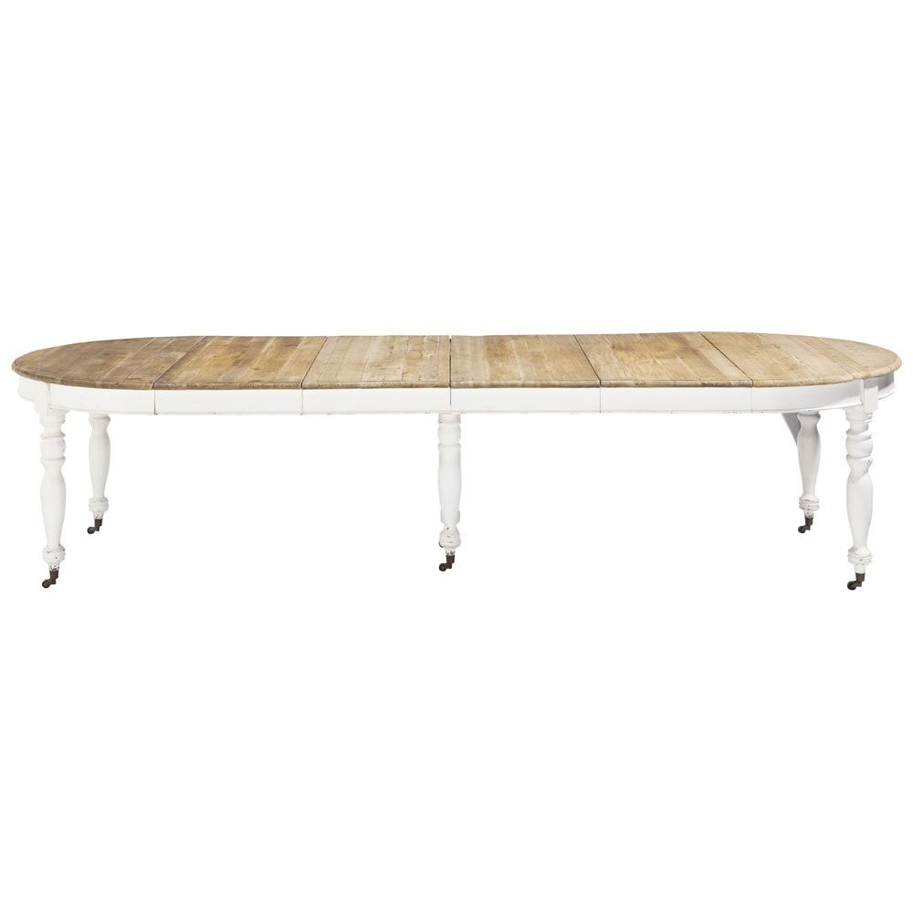 Maisons du monde 39 provence 39 table 10 39 8 table de for Table salle a manger 3 metres