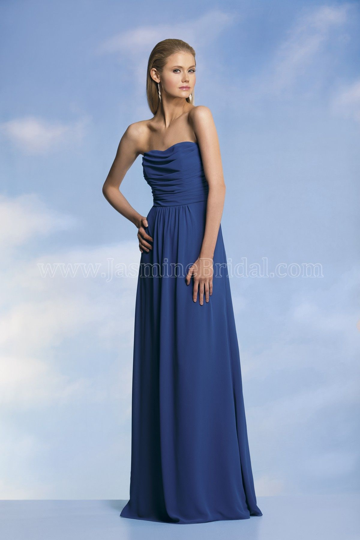 Jasmine bridal bridesmaid dress jasmine bridesmaids style p1760018 jasmine bridal bridesmaid dress jasmine bridesmaids style p1760018 in navy a dress that oozes effortless ombrellifo Images