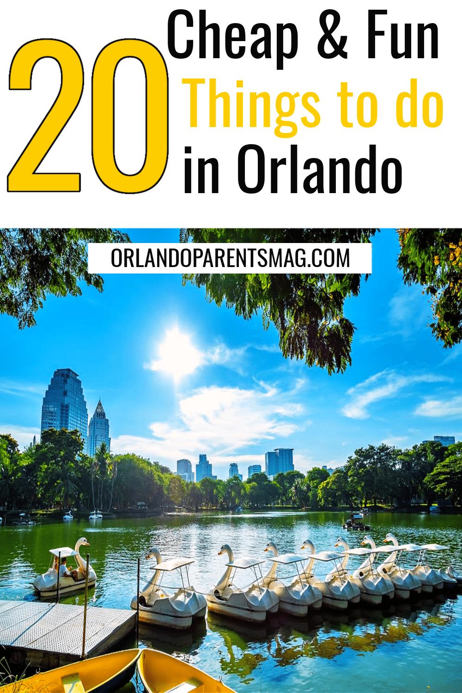 20 Cheap Things To Do In Orlando Orlando Travel Orlando Florida Vacation Orlando Activities