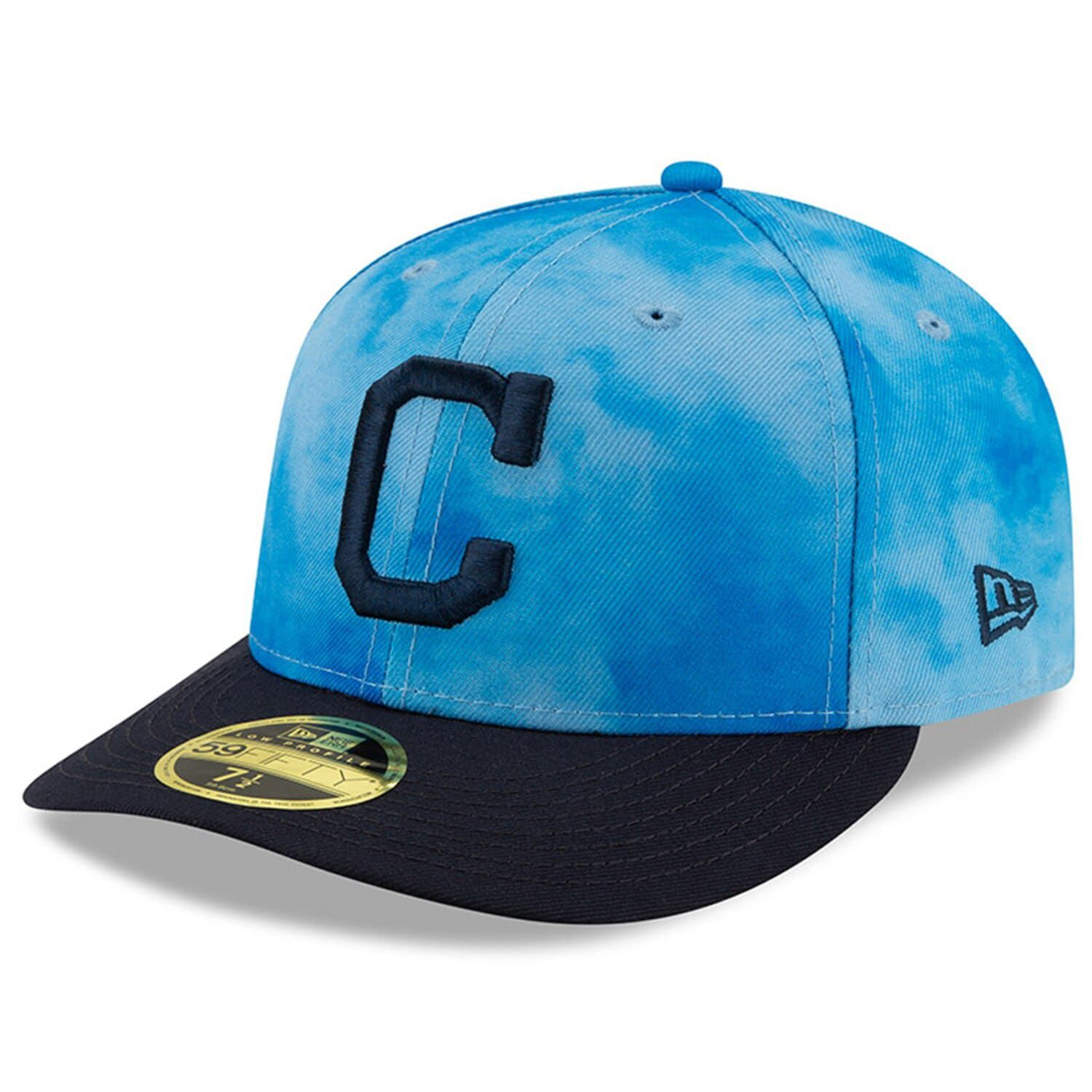 get new brand new best deals on Men's New Era Blue/Navy Cleveland Indians 2019 Father's Day On ...