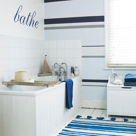 Bathroom Wallpaper Ideas That Will Elevate Your E To Stylish New Heights Nautical Bathrooms And Walls