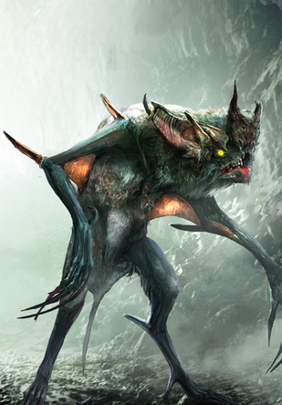 The Witcher 3 Gwent Card Art Witcher Monsters The Witcher Fantasy Creatures