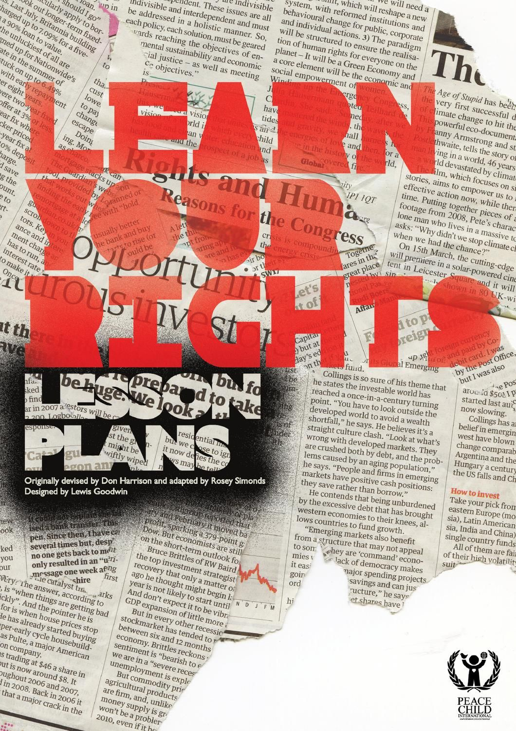 Human Rights Lessons Plans