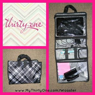 Travel Make Up Cases Are Not Just For Make Up This Thirty One Timeless Beauty Bag Also Makes A Great Mobile Office Or Thirty One Gifts Thirty One Mobile Office