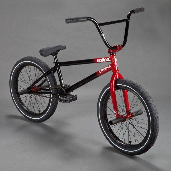 Bmx United X Cinema Collab Complete Bike This Is Cool Bmx Bikes Bike Freestyle Bmx Bicycle