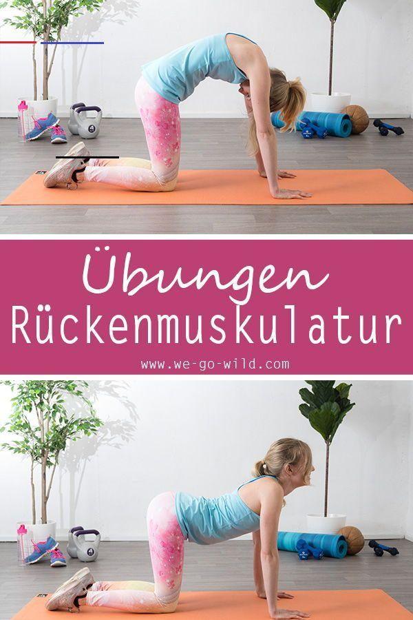 Rückentraining ohne Geräte - 11 effektive Übungen für den Rücken Dieses Workout für zuhause lässt de...