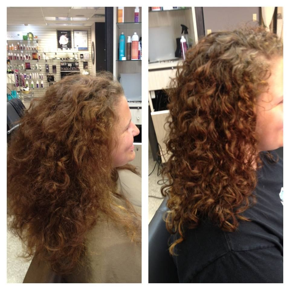 DevaCurl Before & After By: Caycie  Curly hair styles, Hair