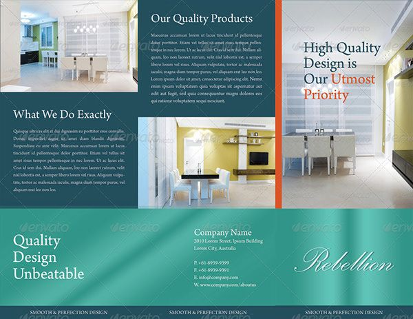 HD Brochure Templates Free PSD Format Download Free - Free tri fold brochure templates download