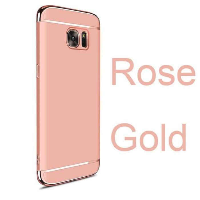 For Samsung S7 Edge Case For Samsung S7 Case Mofi Back Cover Hard Coque For Galaxy S7 Edge Cover S7 Capa Funda Luxury Gold Blue Phone Cases Samsung Galaxy Samsung S7