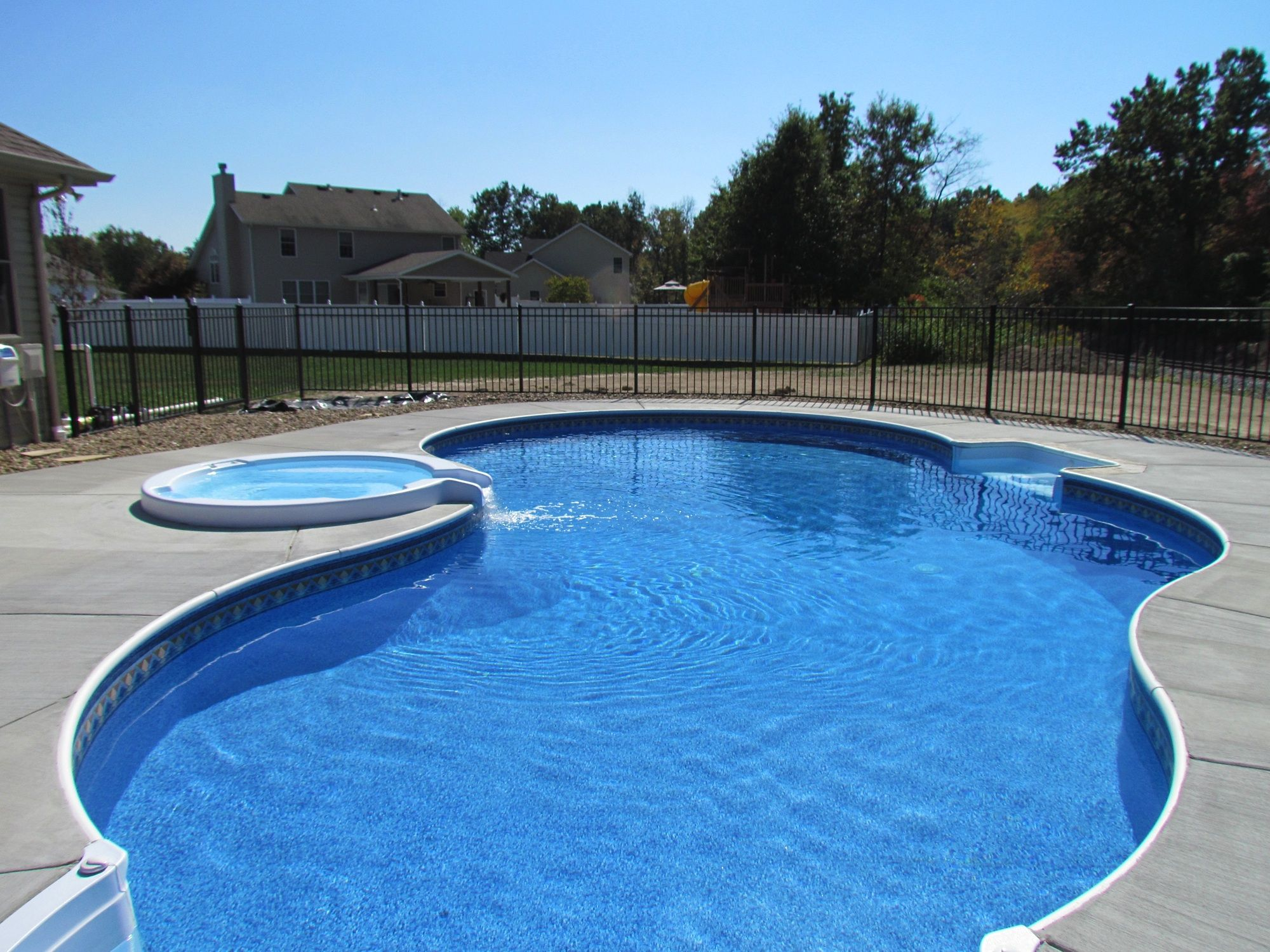 18 x36 Oasis Inground Swimming Pool in Illinois