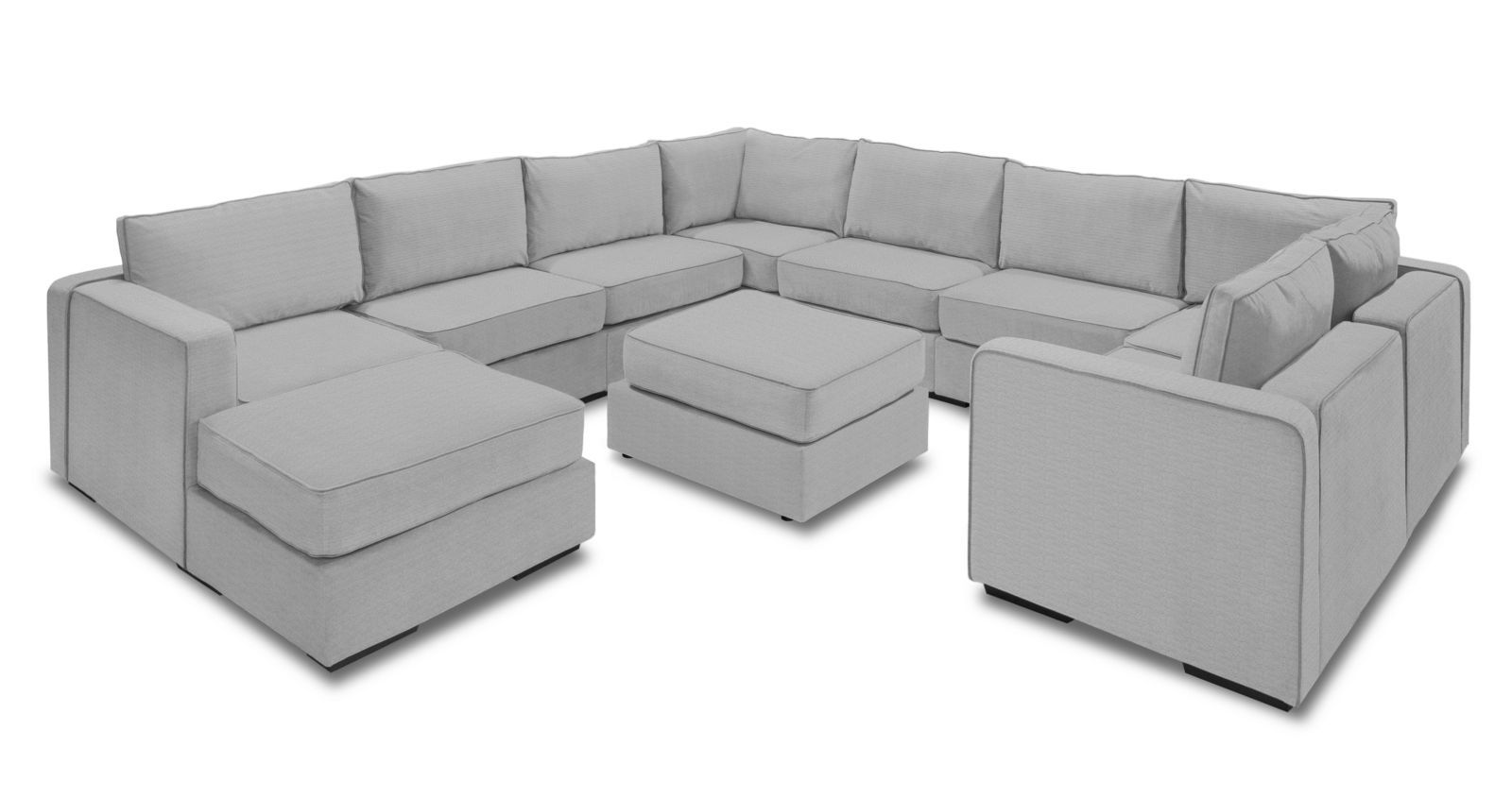 Wrap Around Modular Sectional Couch
