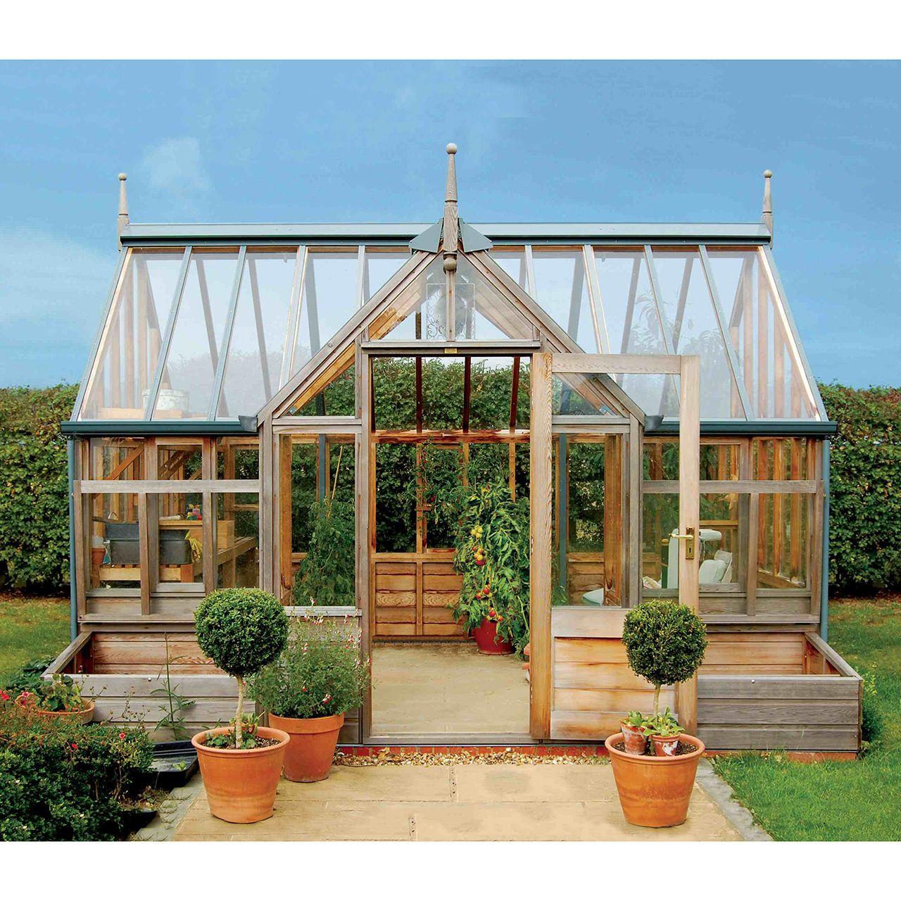 Gabriel Ash Portico Series Greenhouse