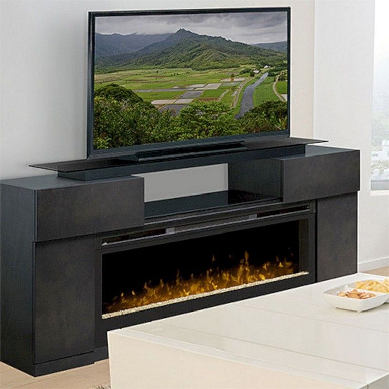 32 Top Electric Fireplace Tv Stand Design Ideas For Your Family