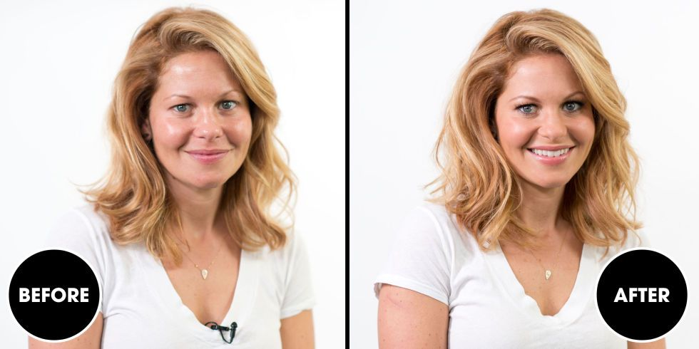 Watch Candace Cameron Bure Go From Bare Face to Camera Ready in 99 Seconds Flat