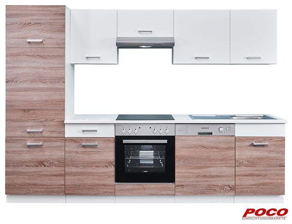 Küchenleerblock Max 280 cm Küchen(t)räume Pinterest - küchen von poco