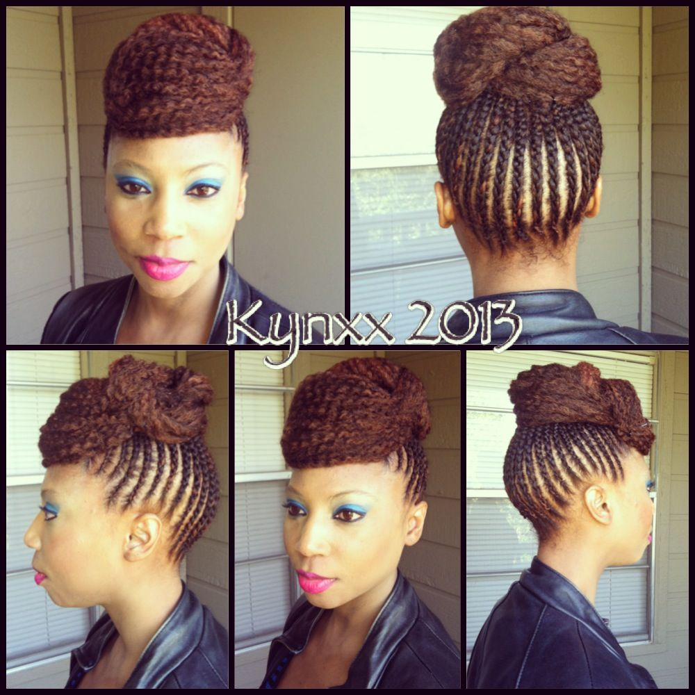 Marley hair updo natural hairstyles pinterest marley hair