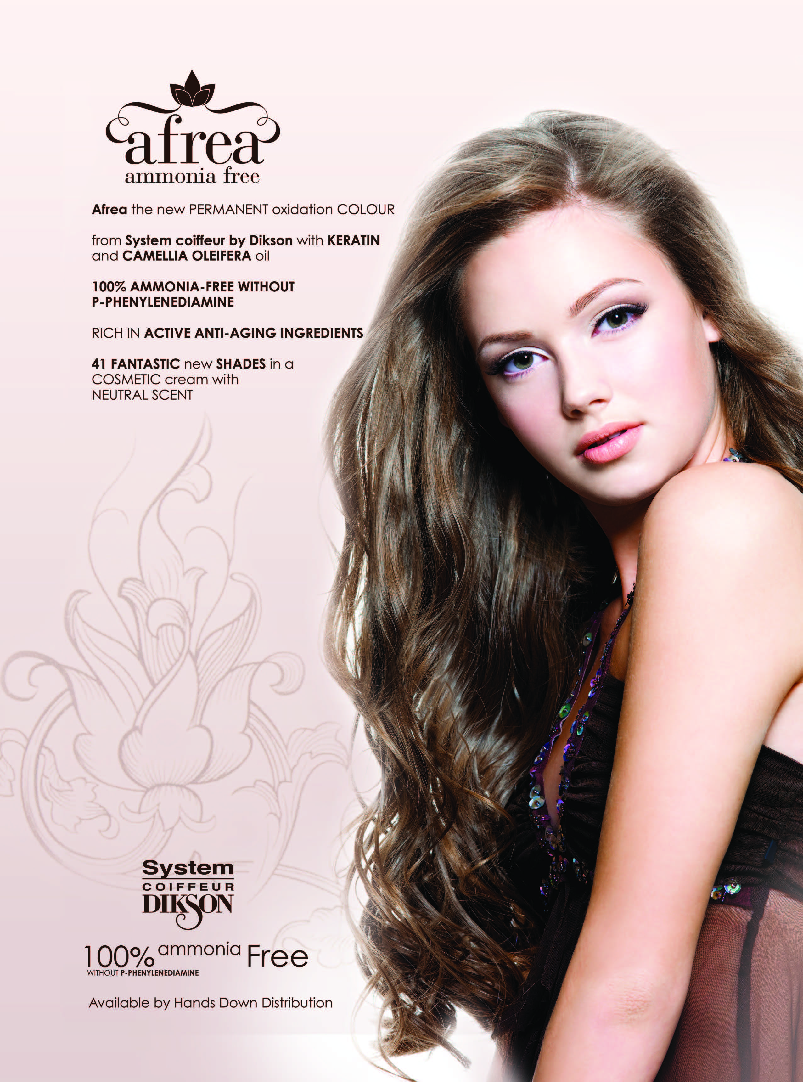 Afrea Ammonia Free is the new permanent colour that is