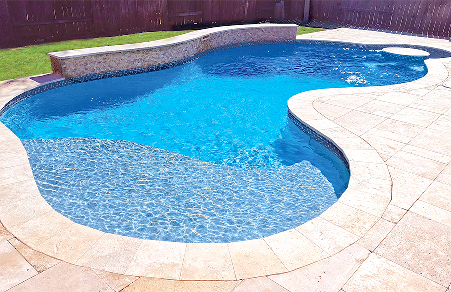 Free Form Pool Ideas Shapes And Pictures Blue Haven Backyard Pool Landscaping Backyard Pool Pools Backyard Inground