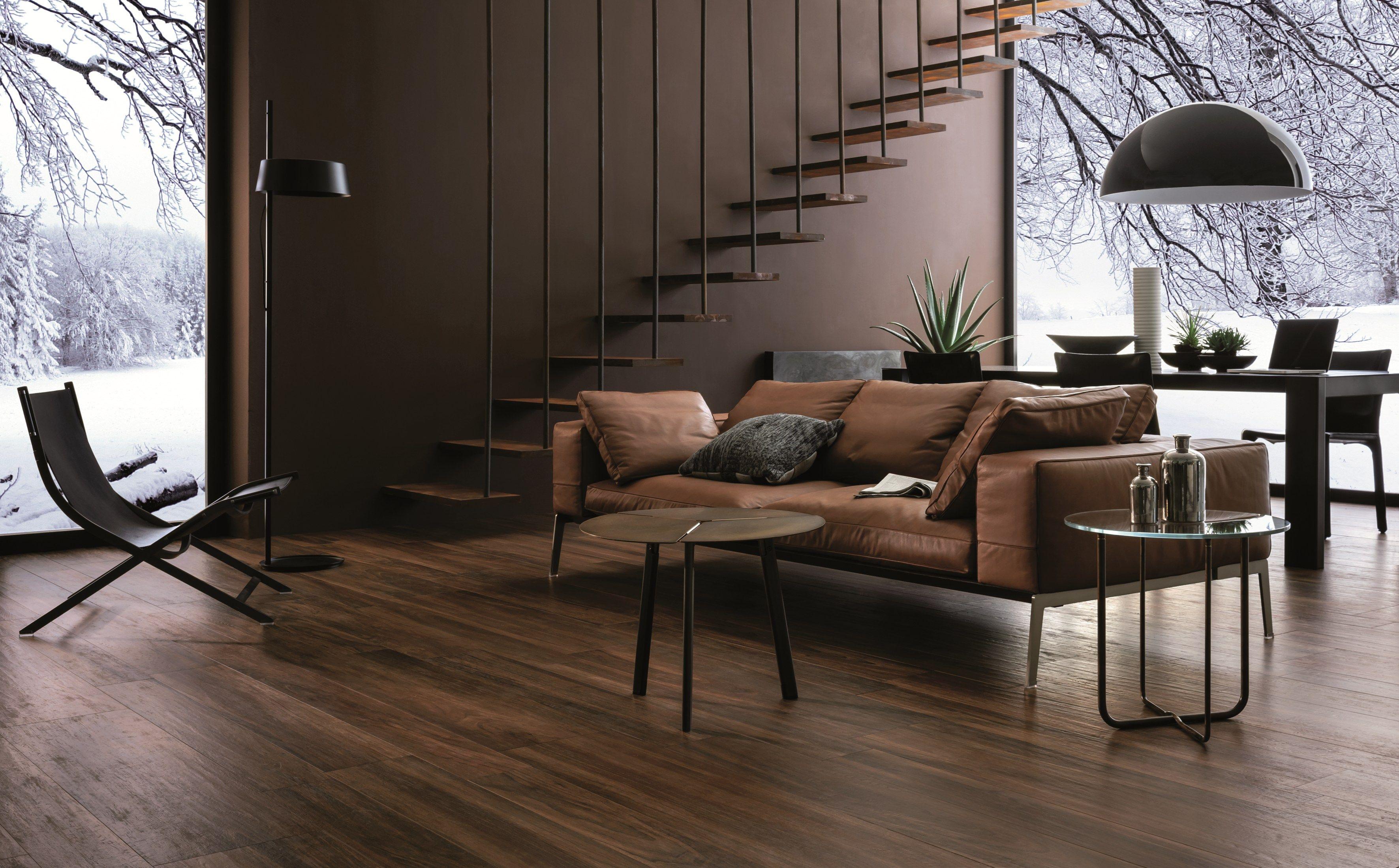 Pavimento in gres porcellanato effetto legno TREVERKCHIC By MARAZZI ...