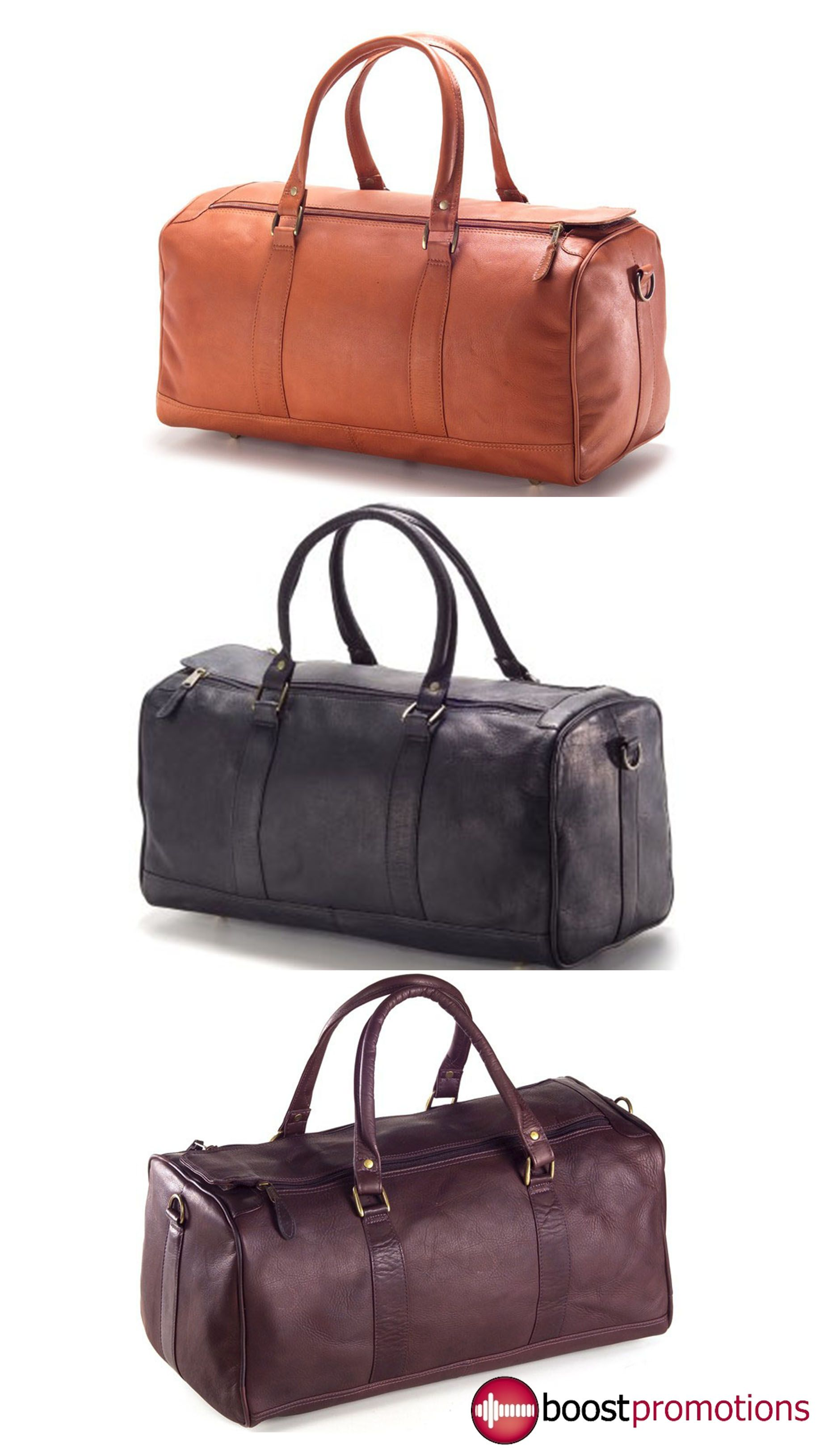 Item   BP-29 Large Leather Barrel Duffel Bag. Meets airline carry on  regulations. No frills 31d064aa90543