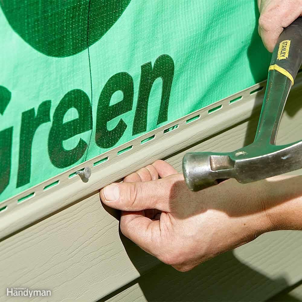 how to board up a window with vinyl siding