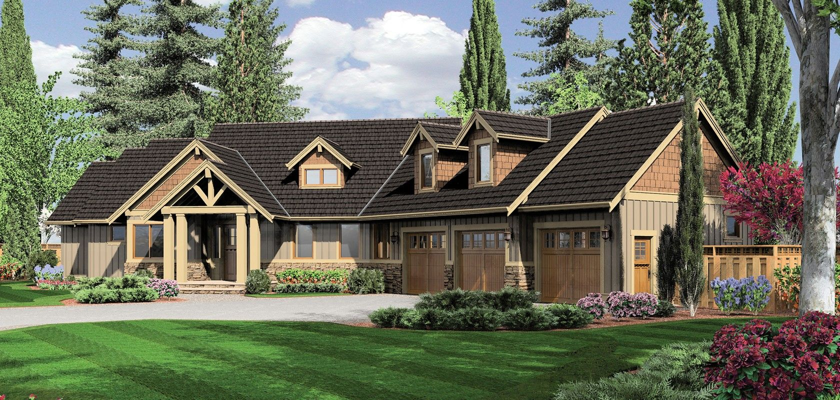 Mascord house plan b22156 mud rooms unfinished for Half basement house plans