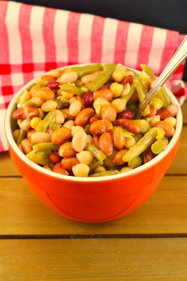 Easy Bean Salad Vegan