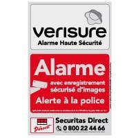 Plaque Dissuasive Metallisee Systeme Alarme Les Materiels