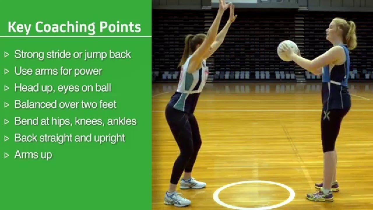 Defending Skills netball australia Netball australia
