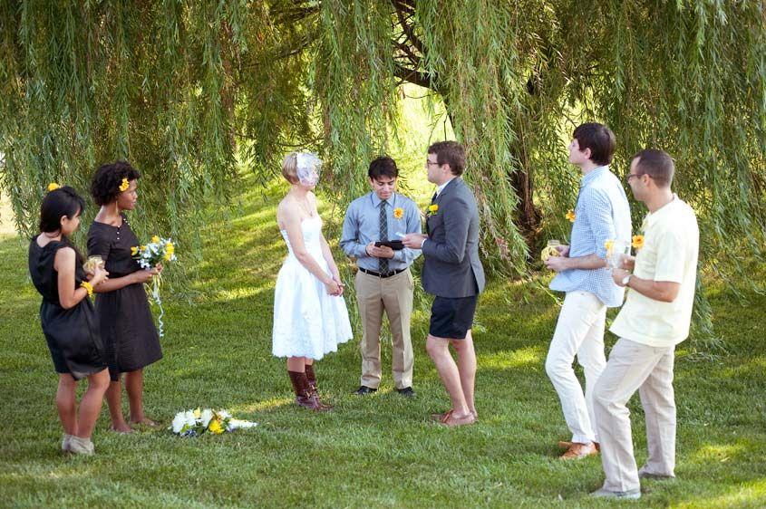 Outdoor Wedding Attire For Grooms