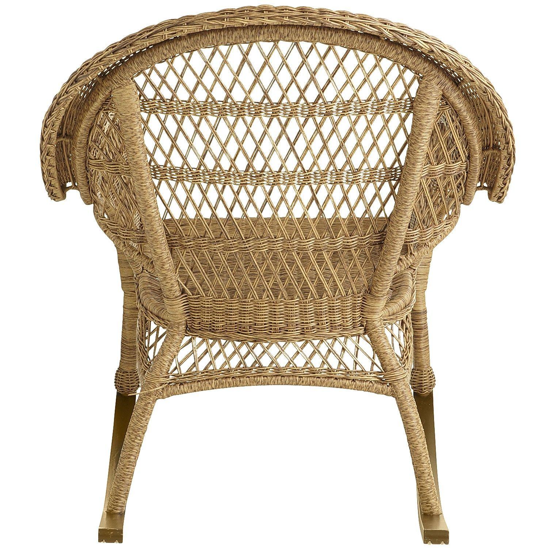 Santa Barbara Light Brown Rocking Chair Tan Decoracao Arquitetura