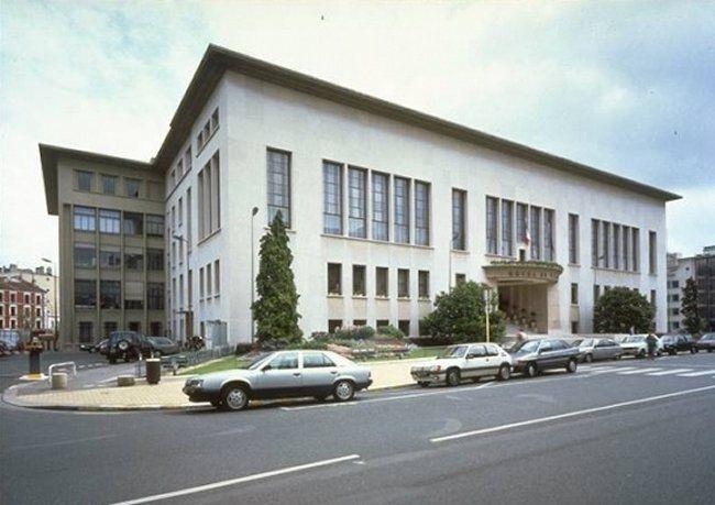 ayuntamiento de boulogne billancourt 1934 de tony garnier arquitectura pinterest. Black Bedroom Furniture Sets. Home Design Ideas