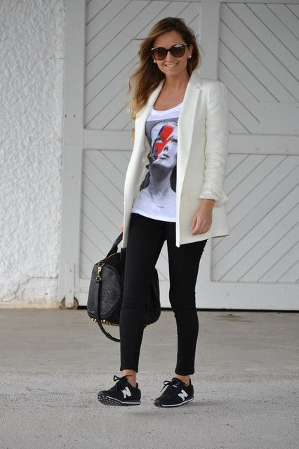New Balance | Look viaje | Pinterest | Tenues, Tenue et Chaussure basket