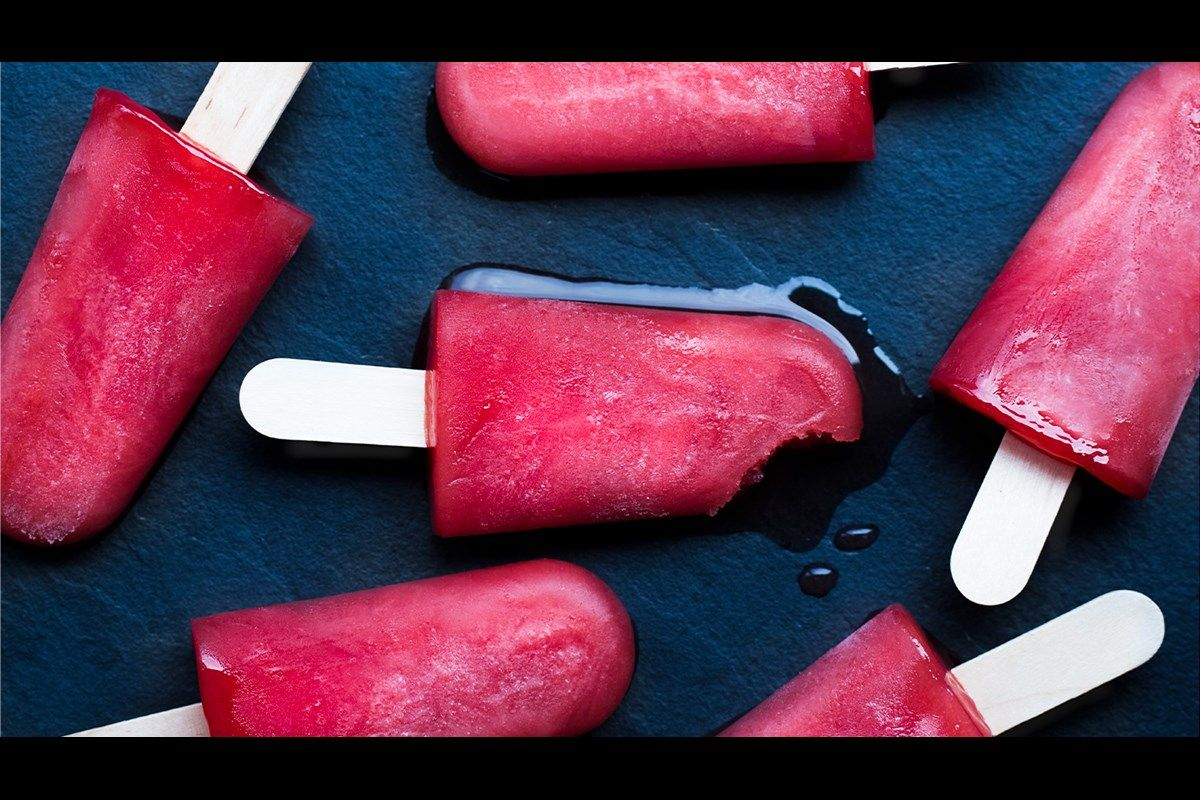 Here is a healthy ice block sugarfree and totally