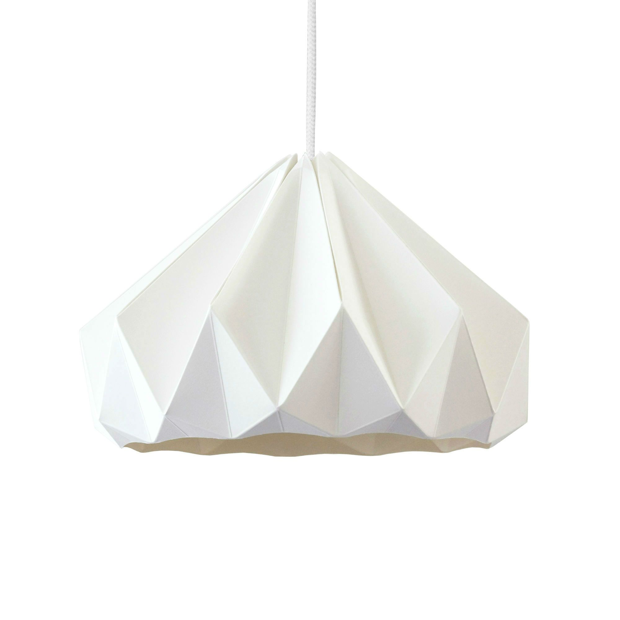 Suspension Papier Blanc ˜28cm CHESTNUT