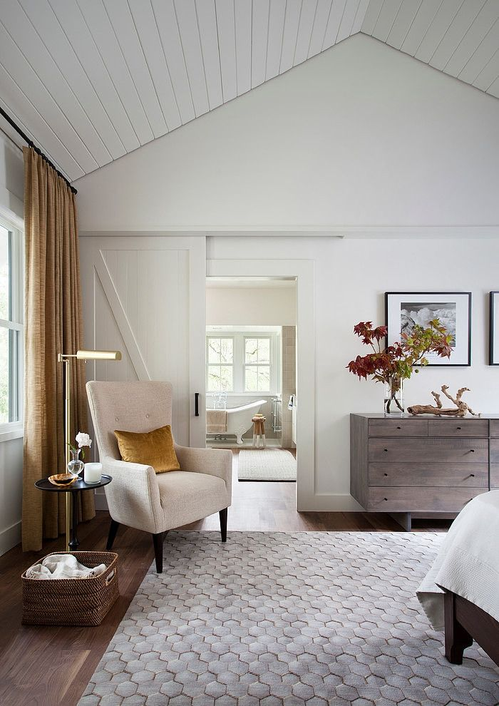Modern Farmhouse Incorporates Traditional Details For Eclectic Lifestyle BedroomFarmhouse StyleThe