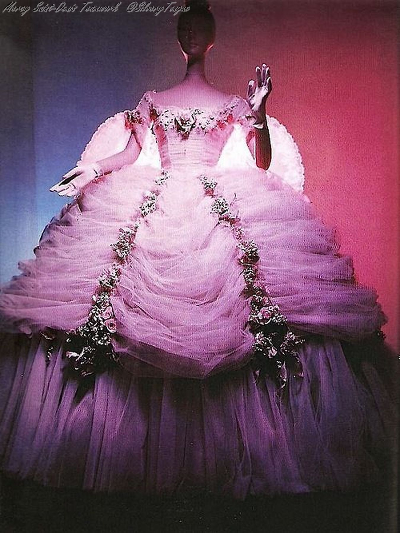 A Leslie Caron costume from The Glass Slipper.   The Glass Slipper ...