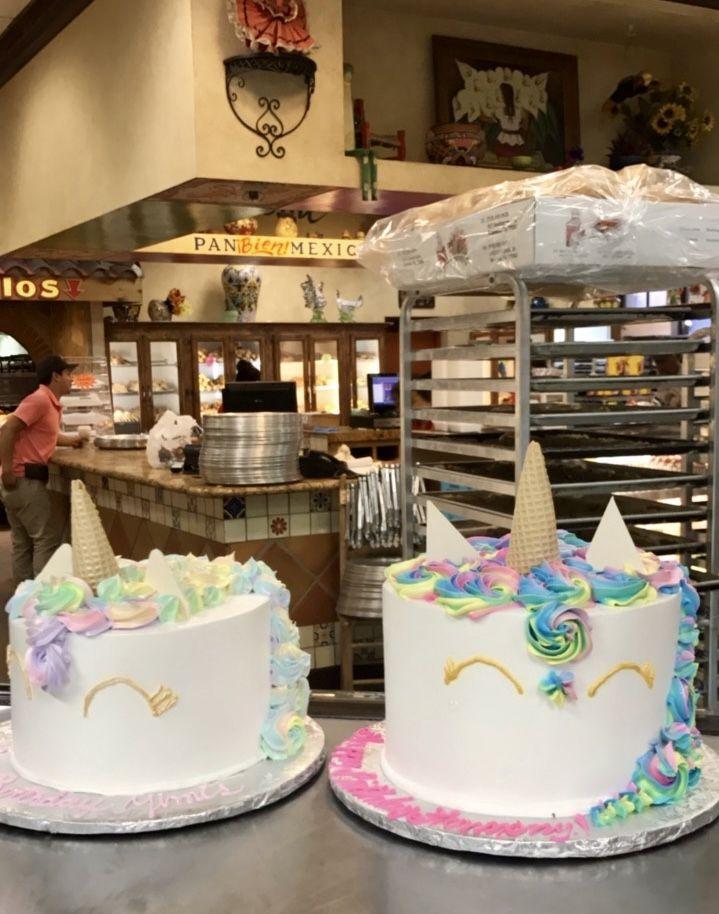 Unicorn Tres Leches Cakes From El Bolillo Bakery In Houston Tx
