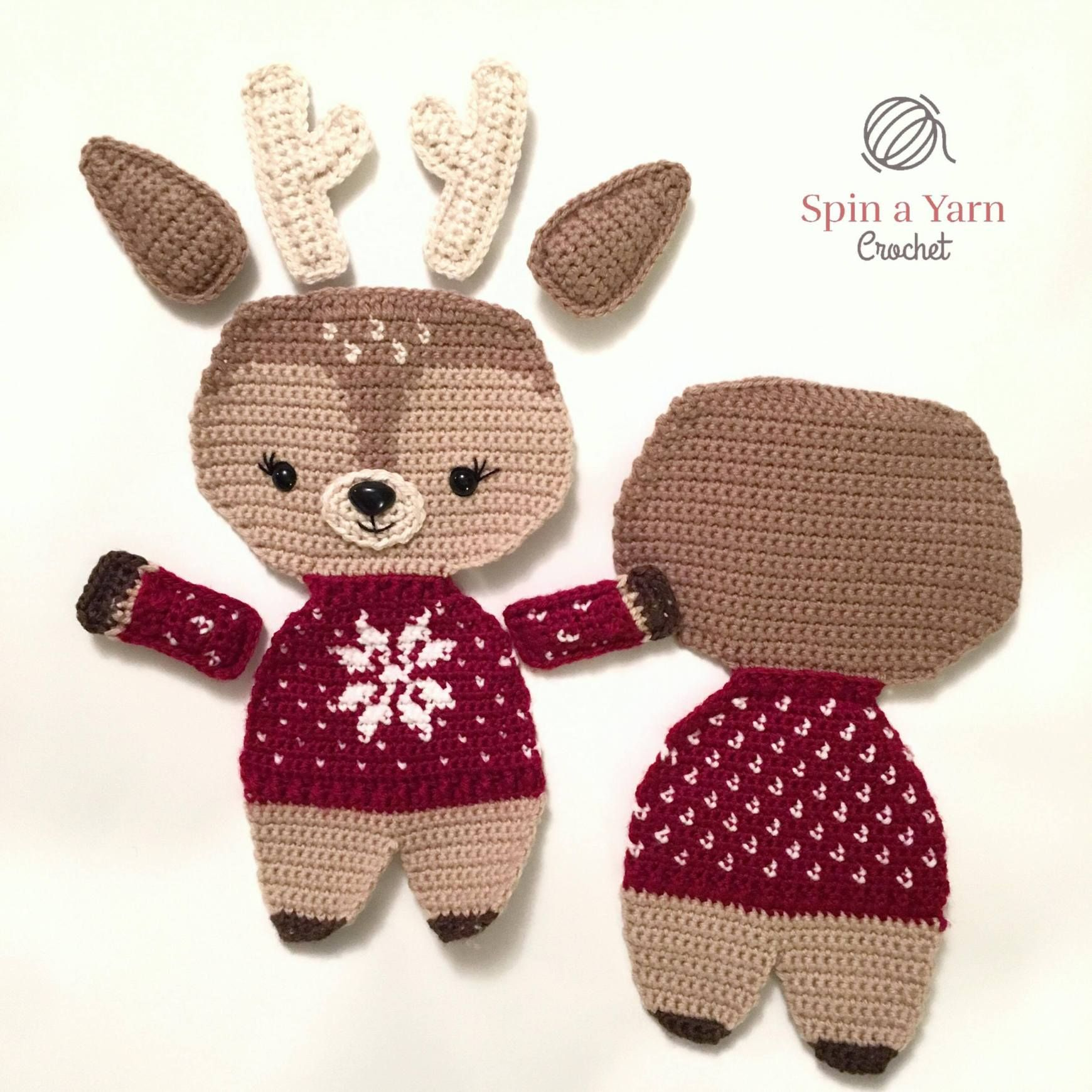Tutorial Árbol de Navidad de Crochet - Misslanitas - YouTube | 1740x1740