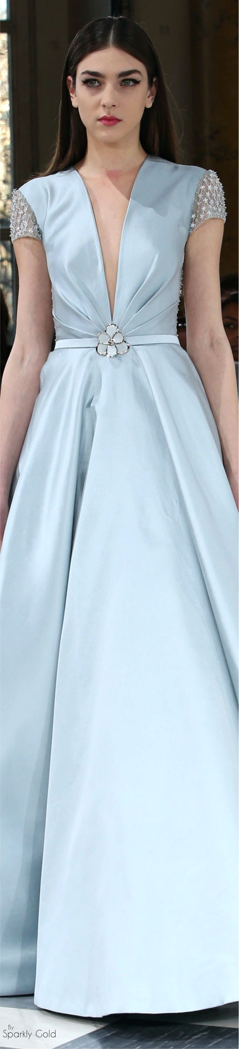 ℳiss Giana's Gorgeous Gowns ♛ ♛  Georges Hobeika Spring 2016 Couture                                                                                                                                                     More