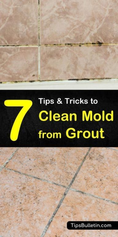 7 Smart & Easy Ways to Clean Mold from Grout in 2020