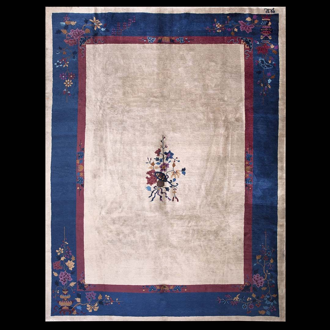 d371e4d840c6 Antique Chinese - Art Deco Rug - 22611