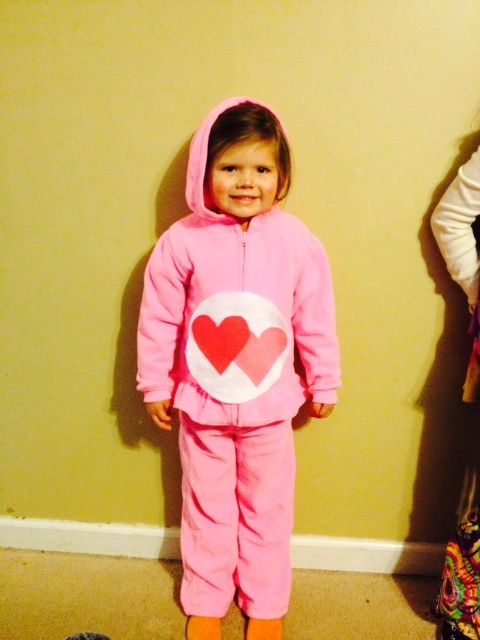 Halloween costumes · Love A Lot ...  sc 1 st  Pinterest & Love A Lot Care bear costume DIY | Halloween | Pinterest | Care bear ...